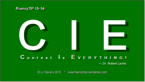fluencyTIP 15-01-context