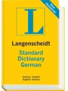 Langenscheidt Standard Dictionary German- English