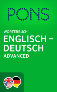 PONS English-Deutsch Advanced Dictionary